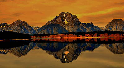 Eagls Digital Art - Yellowstone Park by Aron Chervin