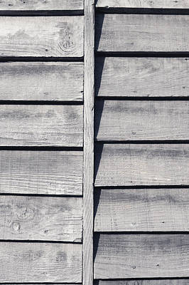 Abstract Photograph - Wooden Background by Tom Gowanlock