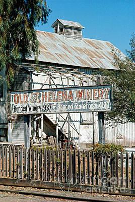 St. Helena Photograph - Californian Landscapes by Baron Wolman