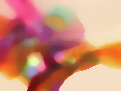 Translucent Abstractions Series Print by Ricki Mountain