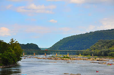 340 Bridge Harpers Ferry Print by Bill Cannon
