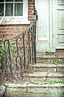 Haunted House Photograph - Stone Steps by Tom Gowanlock