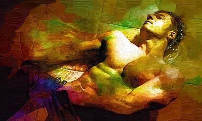 Gay Art Print Print by Michael Vicin