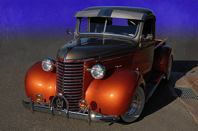 39 Chevy Pickup Print by Bill Dutting
