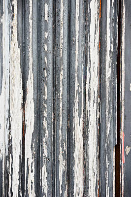 Weathered Wood Print by Tom Gowanlock