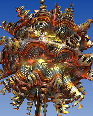 Digital Art - 3mh33-02b by Jeff Berkeley