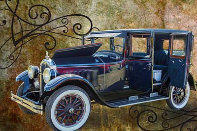 1924 Buick Duchess Antique Vintage Photograph Fine Art Prints 104 Print by M K  Miller
