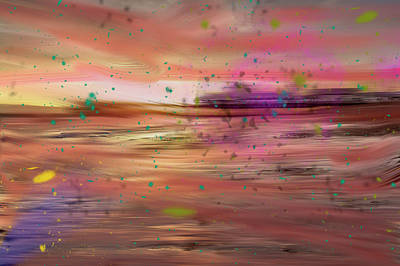 Abstract Digital Art Photograph - Alone by Angela Aird