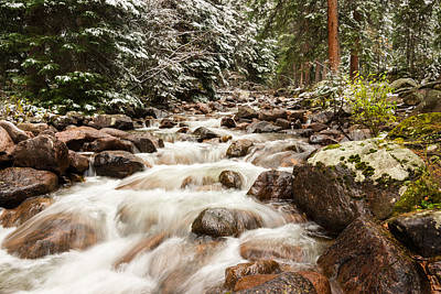 Limited Edition Photograph - Autumn At Gore Creek - Vail Colorado by Brian Harig