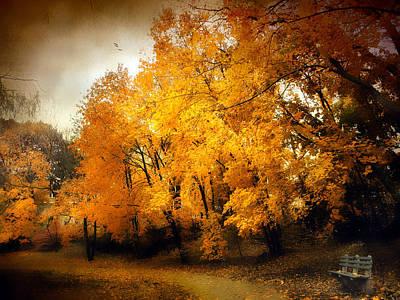 Autumn Respite Print by Jessica Jenney