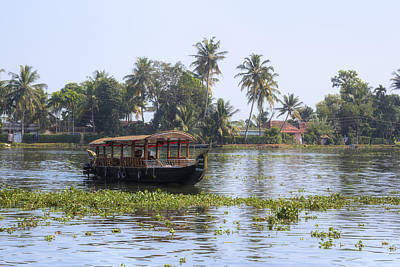 Backwaters Kerala - India Print by Joana Kruse