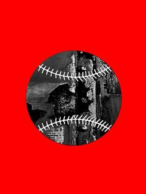 Baseball Mixed Media - Baseball Collection by Marvin Blaine
