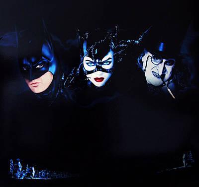 Horror Digital Art - Batman Returns 1992 by Caio Caldas