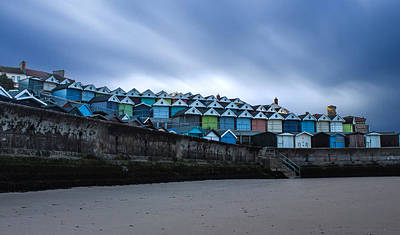 Beach Landscape Photograph - Beach Huts by Martin Newman