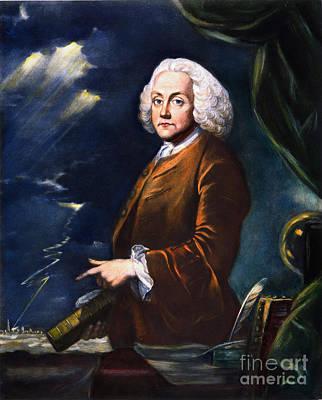 Benjamin Franklin (1706-1790) Print by Granger