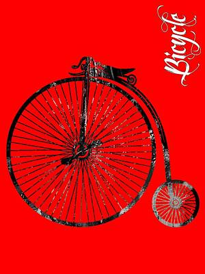 Bicycle Mixed Media - Bicycle Collection by Marvin Blaine