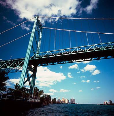 Ambassador Photograph - Bridge Across A River, Ambassador by Panoramic Images