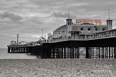 Brighton Pier Print by Stephen Smith