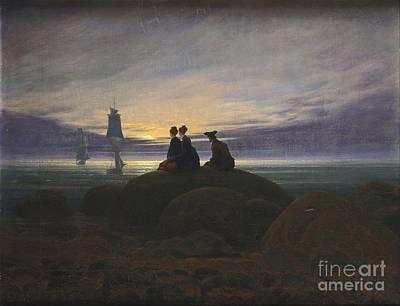 Sea Painting - Caspar David Friedrich by Caspar David