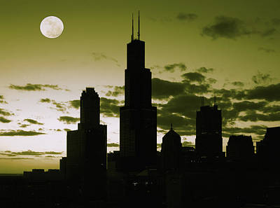 Cloud Photograph - Chicago by Artistic Panda