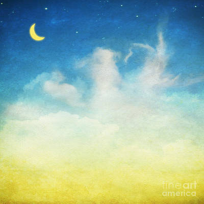 Cloud And Sky Print by Setsiri Silapasuwanchai