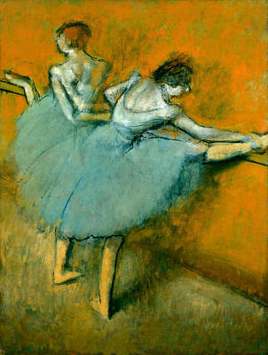 Dance Painting - Dancers At The Bar by Edgar Degas