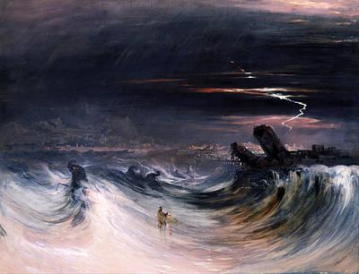 John Martin Painting - Destruction Of Tyre by John Martin