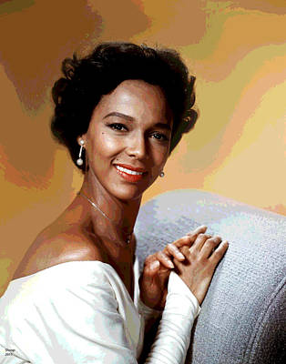 Dorothy Dandridge Print by Charles Shoup