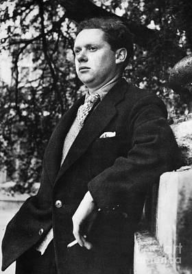 Dylan Thomas (1914-1953) Print by Granger