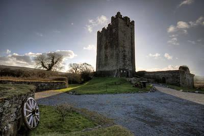Dysert O Dea Castle Print by John Quinn