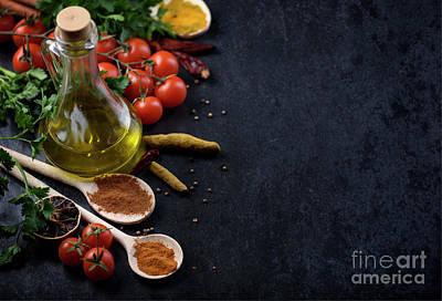 Food Ingredients Print by Jelena Jovanovic