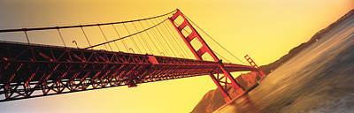 Water Filter Photograph - Golden Gate Bridge San Francisco Ca Usa by Panoramic Images