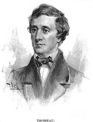 Henry David Thoreau Print by Granger