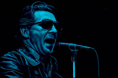 Poster Mixed Media - Jerry Lee Lewis Collection by Marvin Blaine