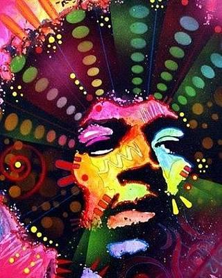 Jimi Hendrix Mixed Media - Jimi Hendrix by Dean Russo