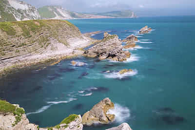 Jurassic Coast - England Print by Joana Kruse