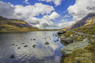 Snowdonia Photograph - Lake Idwal by Ian Mitchell