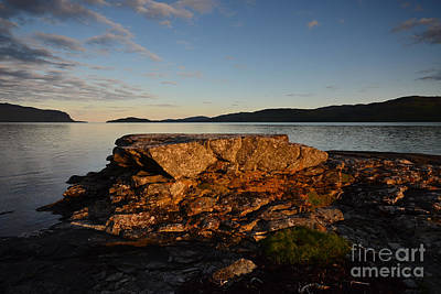 Mulling Photograph - Loch Na Keal by Stephen Smith