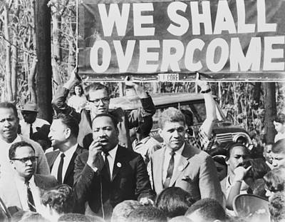 Overcoming Photograph - Martin Luther King, Jr. 1929-1968 by Everett