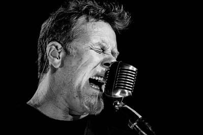 Metallica Photograph - Metallica by Gediminas Bartuska