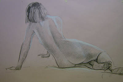 Study Drawing - Model Study by Tigran Ghulyan