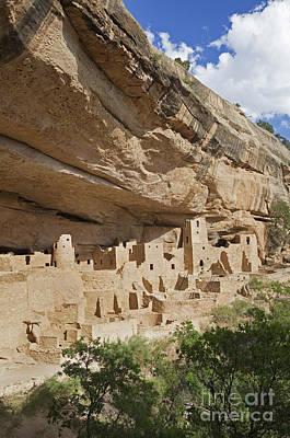 Native American Cliff Dwellings Print by Bryan Mullennix