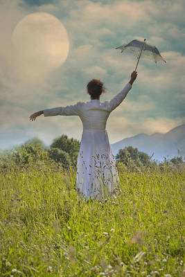Flying Photograph - Parasol by Joana Kruse