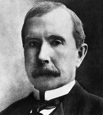 Ev-in Photograph - Rockefeller Family. Industrialist John by Everett