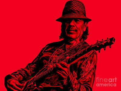 Santana Collection Print by Marvin Blaine