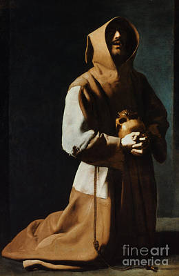 St Francis Of Assisi Print by Granger