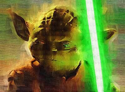 Star Wars Saga Art Print by Star Wars