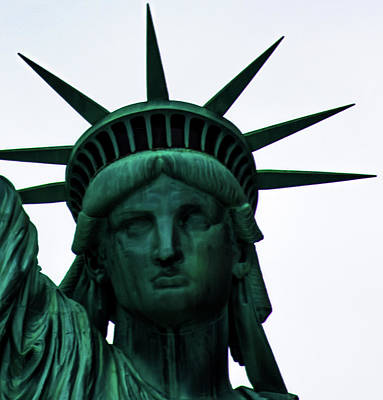 World Of Design Photograph - Statue Of Liberty by Martin Newman