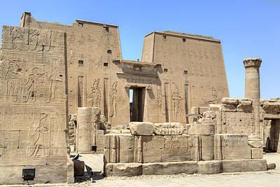 Temple Of Edfu - Egypt Print by Joana Kruse