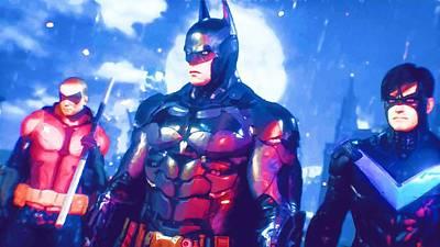 Batman Digital Art - To Batman Art by Egor Vysockiy